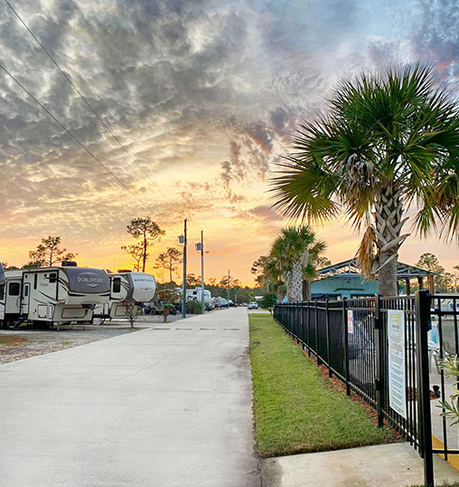 Bay Palms RV rental sites